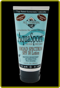 All-Terrain Aqua Sport Sun Lotion 30 SPF (3 oz)