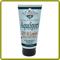 All-Terrain Aqua Sport Sun Lotion 45 SPF (3 oz)