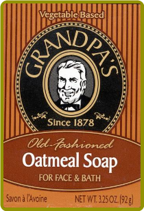 Grandpa's Oatmeal Soap (3.25 oz)