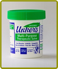 Unkers ORIGINAL Medicated Salve - 3.5 oz  (Case of 12)