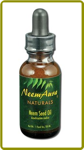 NeemAura Naturals -  Neem Seed Topical Oil (1 oz)