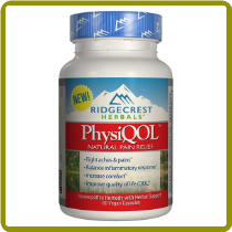 PhysiQQL Pain Relieving Formula(60 caps)