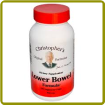 Christopher's Lower Bowel Formula - 100 caps