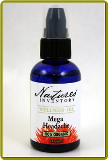 Nature's Inventory - Mega Headache Wellness Oil (2 oz)