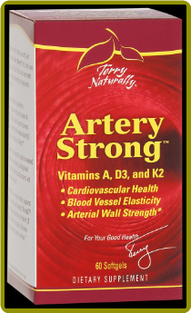 Terry Naturally Vitamin D3-K2 Artery Strong (60 ct)